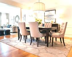 rug for dining table round dining table with rectangle rug large size of home improvement area