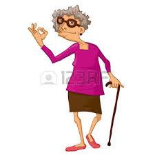 Resultado de imagen de imagenes de ancianas graciosas