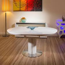 large size of bathroom elegant white round extending table 12 modern dining gloss oval 1200 1600mm