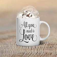 Free shipping on orders $59+! Amazon Com Beatles All You Need Is Love Valentine S Day Coffee Mug Gifts Mugs Valentines Day Gift For Her Him Couple S Gift Ideas Couples Font 11oz 15oz Gift Handmade