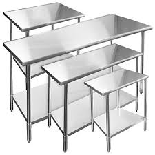 ampamp prep table: gridmann stainless steel commercial kitchen prep amp work table  in x  in
