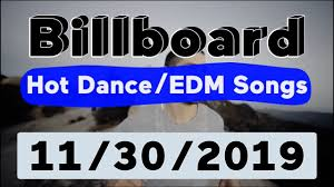 Billboard Top 50 Hot Dance Electronic Edm Songs November 30 2019