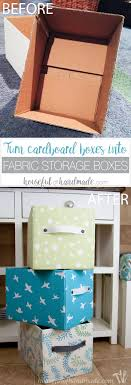 diy decorated storage boxes. Easy DIY Fabric Storage Boxes Diy Decorated E
