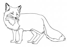 Colours worksheets and online activities. Fox Coloring Pages Coloring Rocks