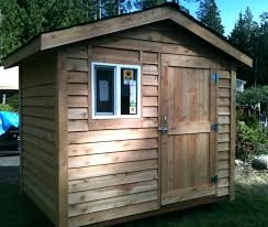 8x8 shed plans cost