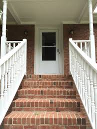 front porch stair ideas. architecture glamorous brick front porch steps thinkter home. exterior design ideas. paint stair ideas