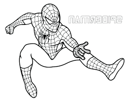 Spiderman Colouring Pages Pdf Designsbytribal Co