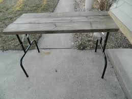 Folding table makeover. Functional CAN be beautiful. Who doesn\u0027t ...