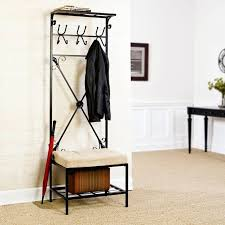 Modern Hall Tree Coat Rack Entrance Bench With Coat Rack Incredible Hall Plans Front Entry 100 14