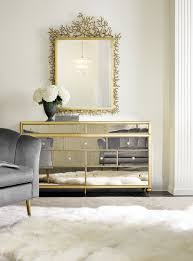 mirrored office furniture. Cynthia Rowley For Hooker Furniture Bewitch Nine-Drawer Mirrored Dresser 1586-90002A-GLD1 Office E