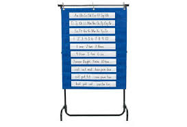 Hanging Chart Stand Discount School Supply Pocket Chart