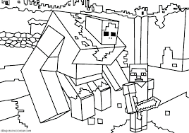 Minecraft Coloring Pages Herobrine Colouring Pages Coloring Pages