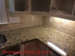 Venetian Gold Granite Kitchen New Venetian Gold Granite Countertop With Tumblestone Backsplash