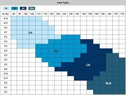 Tights Size Chart Balera Footed Tights