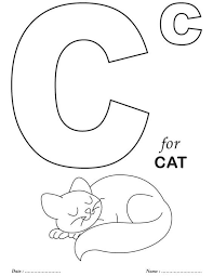 They will help to remember the alphabet, numbers, and account on the associative level. Printables Alphabet C Coloring Sheets Download Free Printables Preschool Coloring Pages Kindergarten Coloring Pages Alphabet Coloring Pages