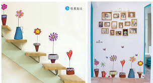 Small Picture cute catoon home decor poster wall window mirror stickers