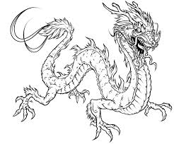 Dragon Coloring Pages For Adults Evil Cool New Free Download