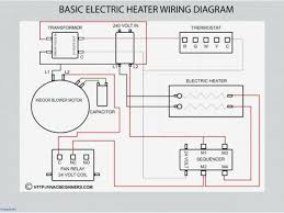 electric duct heater wiring diagram inspirational dst series two 240 Volt Motor Wiring Diagram at 240 Volt Radiant Heating Wire Diagram