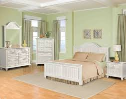 painting wood furniture whitebedroom  Attractive Wooden Beds With Mirrors Bedroom Sets