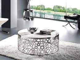 silver coffee table furniture amazing round ideas full wallpaper photos interesting tray