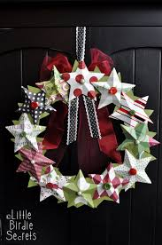 Paper Crafts For Christmas 55 Diy Christmas Wreaths How To Make A Holiday Wreath Craft