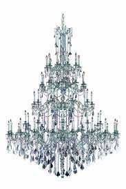 rosalia 60 light pewter chandelier clear swarovski elements crystal