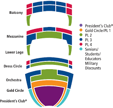 San Diego State Open Air Theatre Seating Chart San Diego Civic Theatre Broadway San Diego