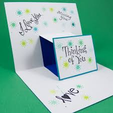 Folded Birthday Card Step Pop Up Cards Greeting Card Ideas Aunt Annies Crafts
