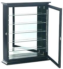 shot glass display case shelf cabinet for glasses is wall mounting ikea home improvement cast