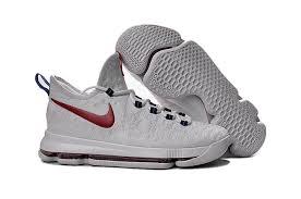 nike basketball shoes 2017 kd. nike kd 9 basketball shoes white red blue - cheap jordan 2017,cheap jordans 2017 for sale online kd o
