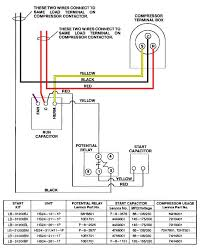 air conditioning capacitor wiring diagram images air conditioning thermostat wiring diagram on for rheem air handler