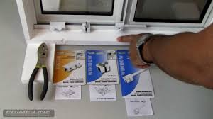 how to easy to install sliding window door security hardware you