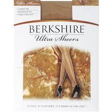 Berkshire Womens Ultra Sheer Control Top Pantyhose Reinforced Toe 4419