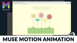 Muse Motion Animation | Animation Without Code | Adobe Muse CC ...