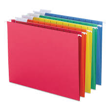 Hanging File Folders 1 5 Tab 11 Point Stock Letter Assorted