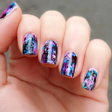 Nail Designs with Black Base