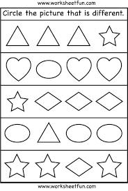 Kindergarten 203 Best Preschool Activities And Worksheets Images ...