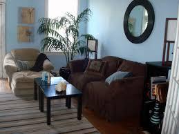 Blue Brown and Tan Living Room (roomzaar.com)