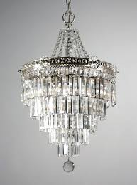 antique chandelier crystals sold stunning antique silver plated five tier chandelier with crystal prisms c antique