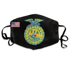 Ffa Logo Embroidery Design Amazon Com Fashion Outdoor Mouth Mask Face Masks With