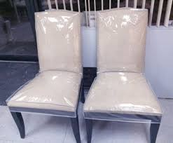 clear plastic seat covers for dining room chairs velcromag modern clear dining room chairs
