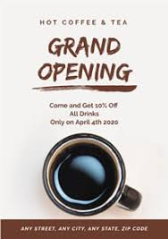 Free Grand Opening Flyer Template Free Grand Opening Poster Flyer Designs Designcap Poster Flyer Maker