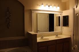 above mirror lighting bathrooms. Bathroom Light Fixtures For Makeup Lighting Ideas Rustic Vanity. Home Depot Bronze Above Mirror Bathrooms