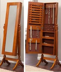 Mirrored Jewelry Cabinet Armoire Jewelry Closet Pinterest Roselawnlutheran