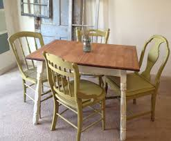 French Country Ethan Allen Small Kitchen Dining Table And Chairs