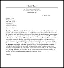 sample of preschool cover letters professional preschool teacher cover letter sample writing guide