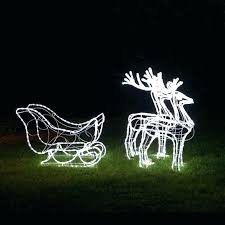new reindeer and sleigh outdoor lights and awesome reindeer and sleigh outdoor lights or outdoor lighted