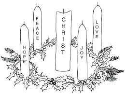 Advent Wreath Coloring Pages P9951 Advent Wreath Coloring Pages