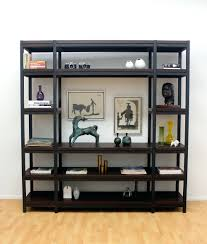 Bookcase: Vintage Industrial Modern Rustic Bookcase Industrial Modern  Bookcase Industrial Modern Rustic Bookcase Tribecca Home