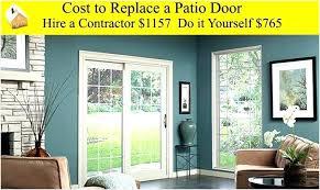 pocket door installation cost patio door replacement cost large size of patio doors replacing door cost